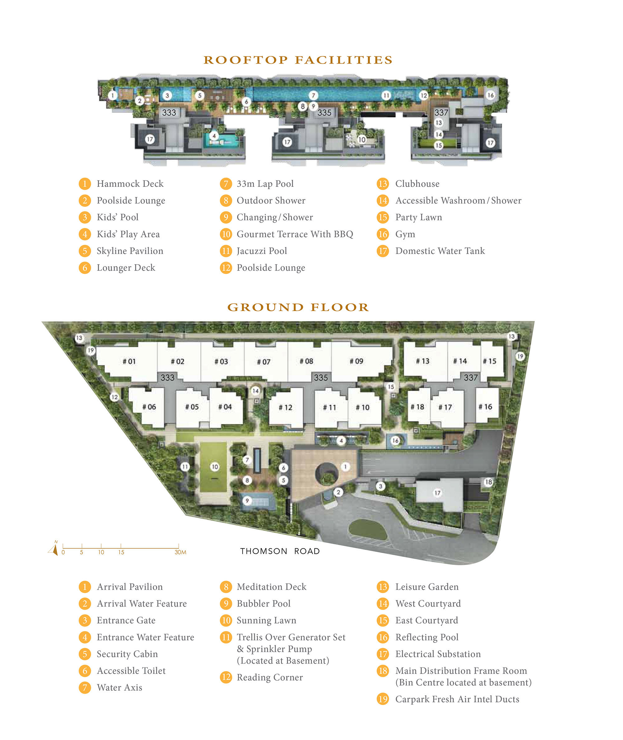 Peak Residence Site Plan